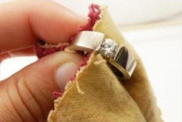 جواهرات را با محلول های خانگی تمیز کنید