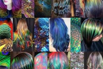 رنگ موهای الهام گرفته از طبیعت