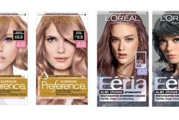 معرفی رنگ موی منتخب اورآل L'Oréal  پاریس برای سال ۲۰۱۸