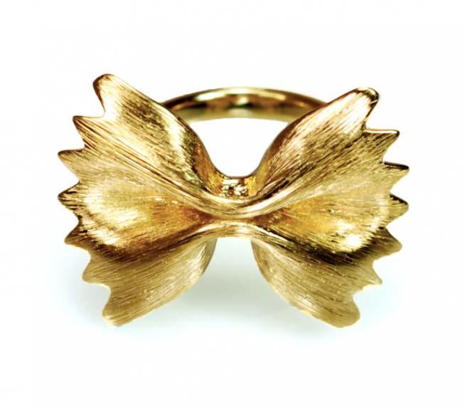 جواهراتی که با الهام از پاستا ساخته می شوند!