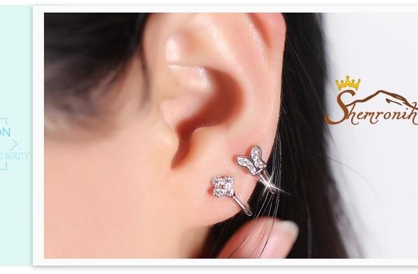 نمونه گوشواره کلپسی از محصولات گالری شمرون