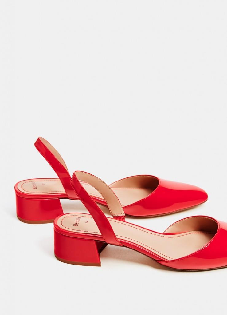 کفش های پاشنه کوتاه با مدل پنجه گربه ای، از برند Breshka