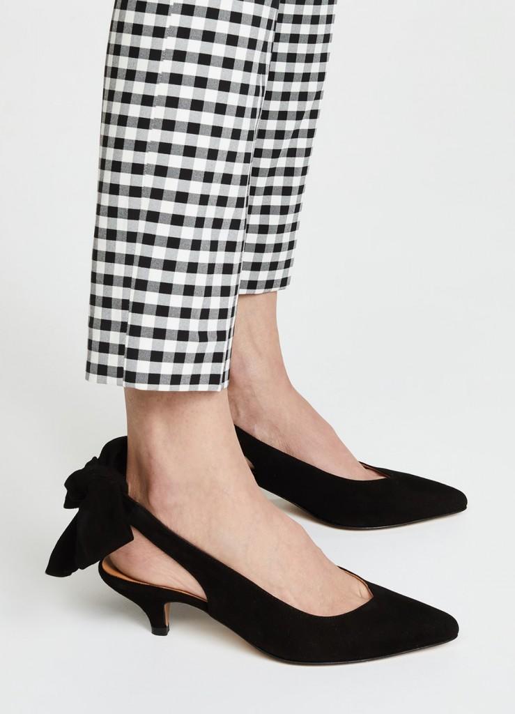کفش پاشنه بلند برند Ganni Sabine به قیمت  $235