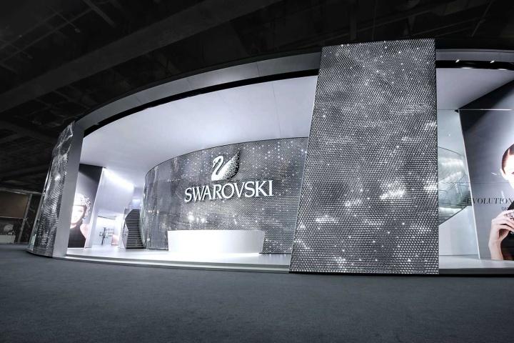 ساعت جدید سواروسکی:دریاچه ی کریستال Swarovski در نمایشگاه Basel