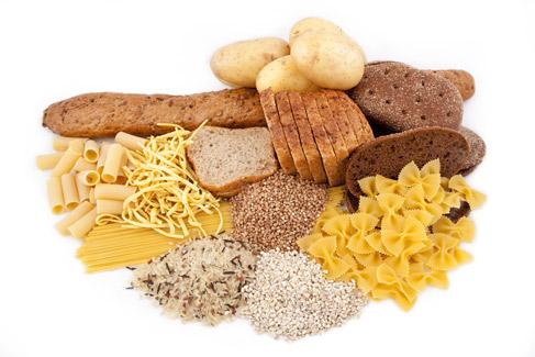 3. از مواد غذایی نشاسته دار استفاده کنید.