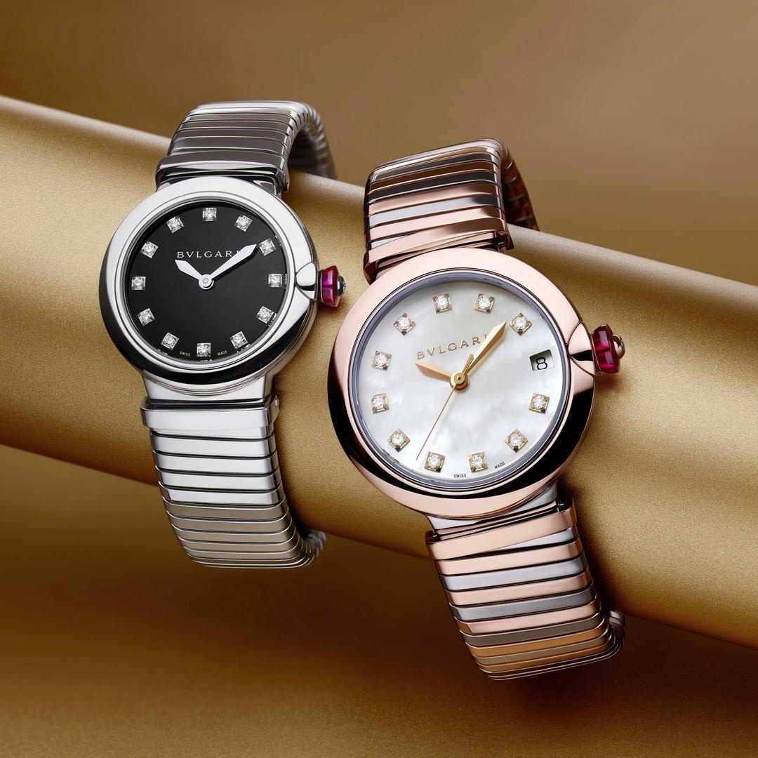 بررسی و معرفی ساعت جدید بولگاری Bulgari: مجموعه ی Lvcea Tubogas