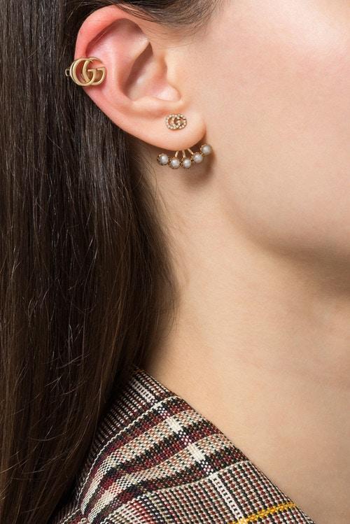 معرفی گوشواره های جدید از برند Gucci: گوشواره های کلیپسی با طرح G