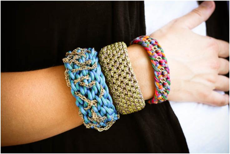 دستبند های پهن