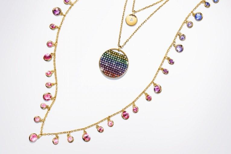 معرفی جدید ترین کلکسیون تابستانی برند Swarovski: بازی با رنگ ها Rainbow Colors
