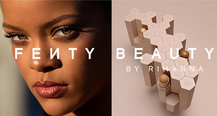 چهار. محصولات زیبایی Fenty از ریحانا