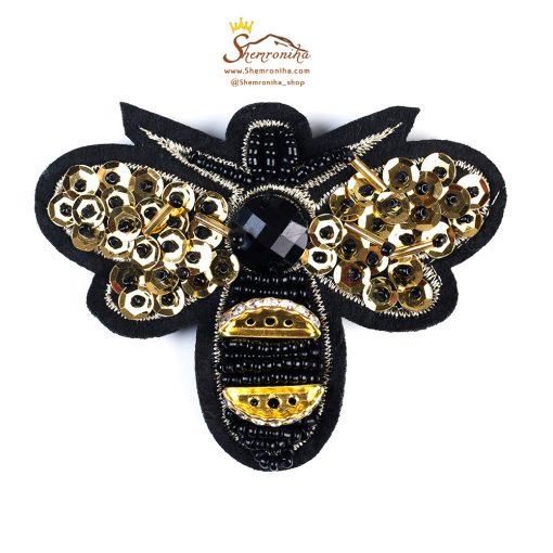 سنجاق سینه طرح زنبور گوچی Gucci از گالری شمرون