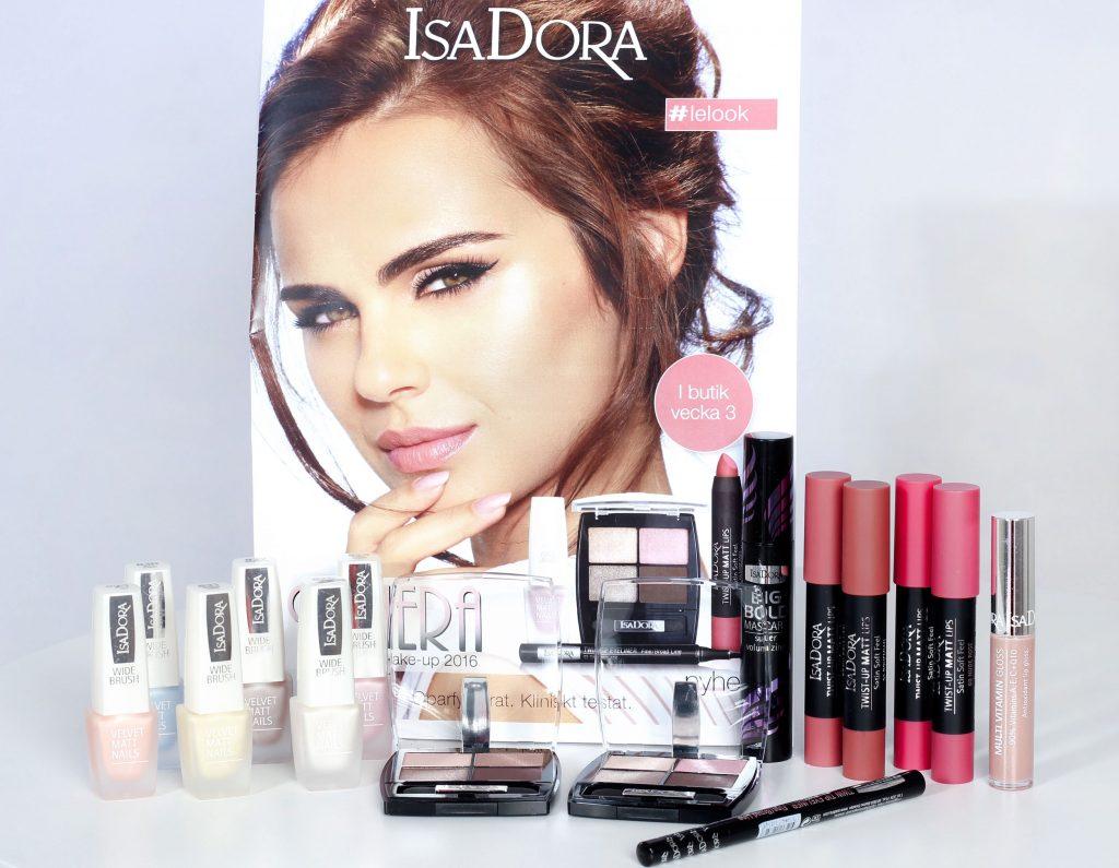 بازگشت برند سوئدی Isadora – ایزادورا محبوب ترین و معروف ترین برند لوازم آرایشی برای خرید