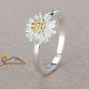 انگشتر بند انگشتی طرح گل مینا (۱۶)