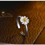 انگشتر بند انگشتی طرح گل مینا (۳)