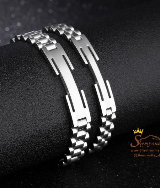 دستبند بند ساعتی سیلور