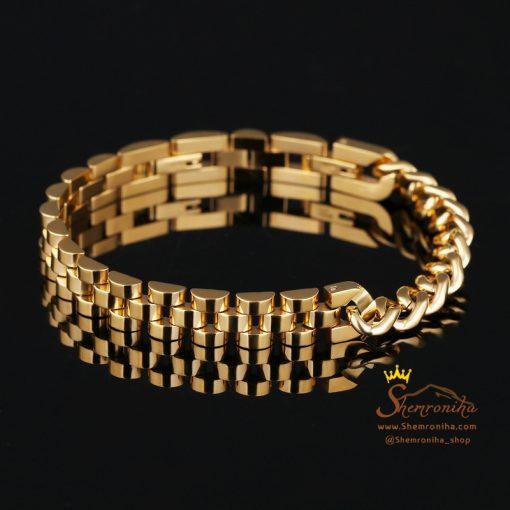 دستبند بند ساعتی مشکی