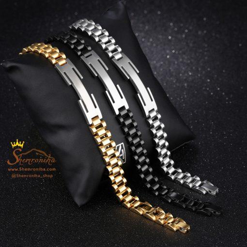 دستبند بند ساعتی Hermes مشکی