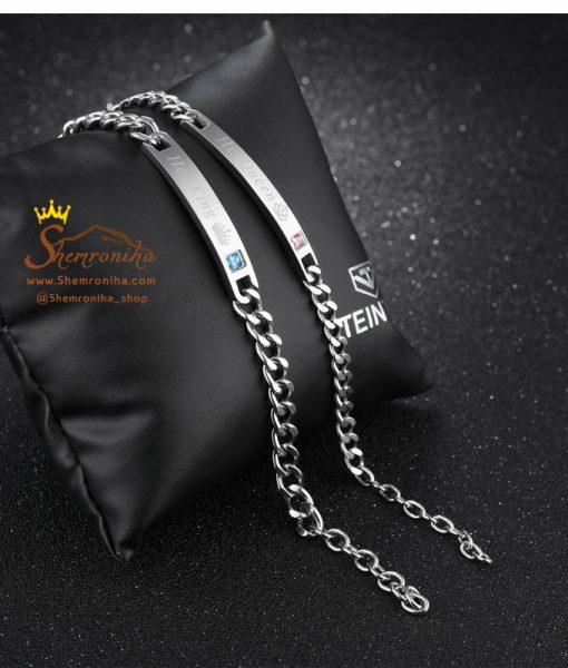 دستبند ست زنانه مردانه King و Queen
