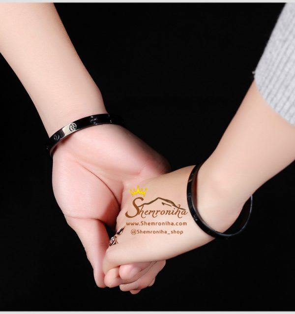 ست زنانه مردانه دستبند کارتیه