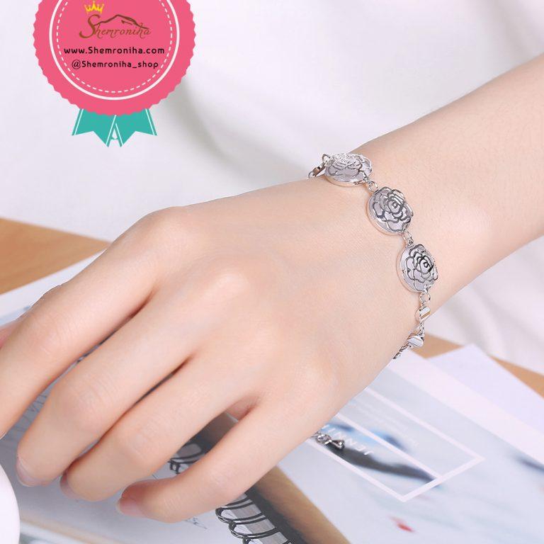 دستبند سه گل