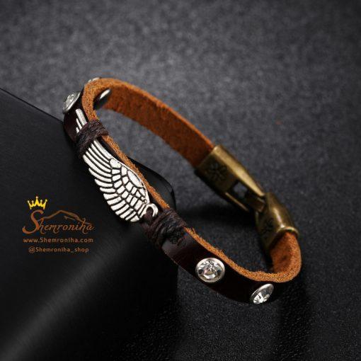 دستبند چرم بال