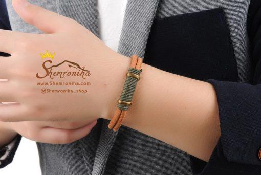 دستبند چرم زنانه مردانه