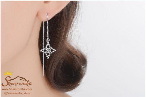 گوشواره بخیه ای ستاره