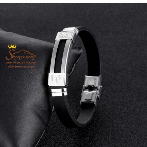 دستبند مردانه زنانه ورساچه سیلور
