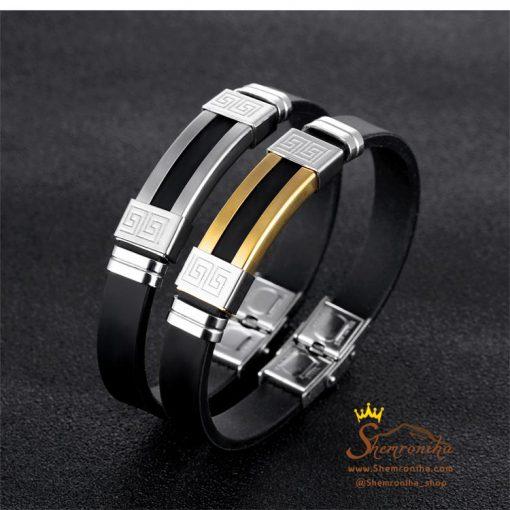 دستبند مردانه زنانه ورساچه گلد
