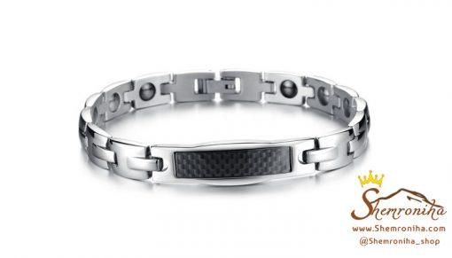 ست دستبند زنانه مردانه با سنگ مگنت