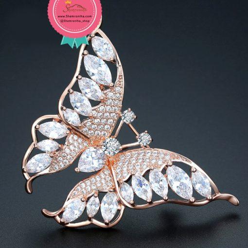 گل سینه – سنجاق سینه پروانه
