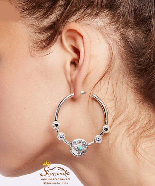 گوشواره حلقه جیپسی وینتیج