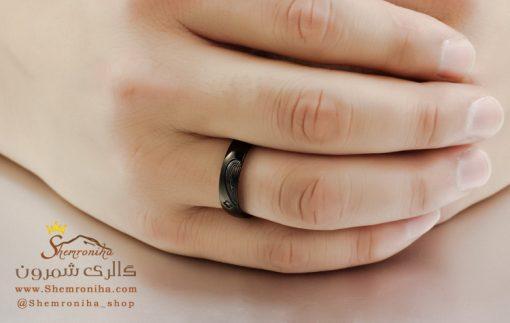 انگشتر ست زنانه مردانه قلب