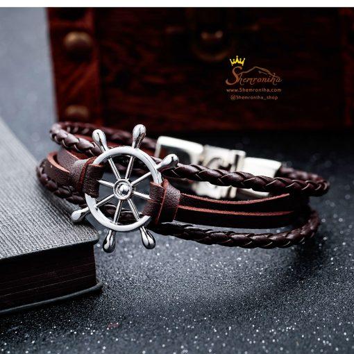 دستبند لنگر مشکی