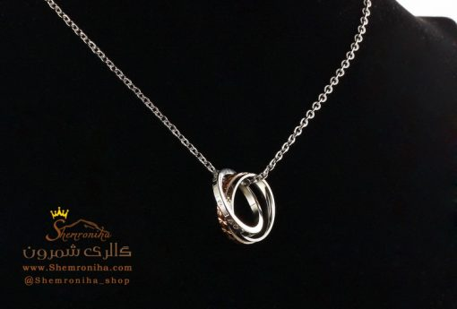 گردنبند ست زنانه مردانه حلقه