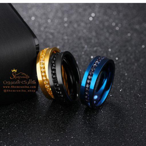 انگشتر مردانه آبی