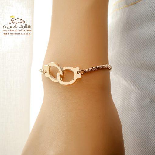 دستبند طرح دستبند رزگلد