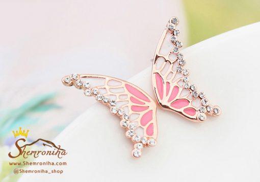 گوشواره بال پروانه