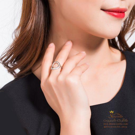 انگشتر حلقه چاک دار