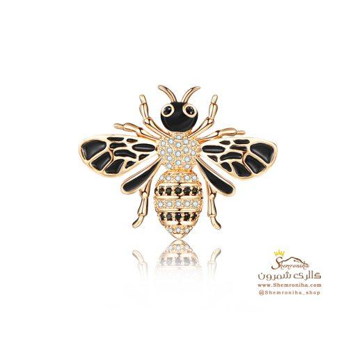 سنجاق سینه زنبور GUCCI (1)