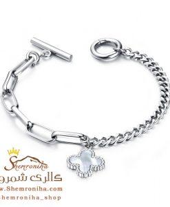 دستبند زنانه شبدر