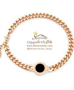 دستبند زنانه بولگاری رزگلد