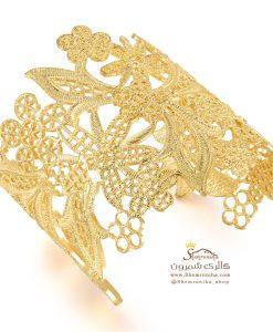 دستبند گل گلد