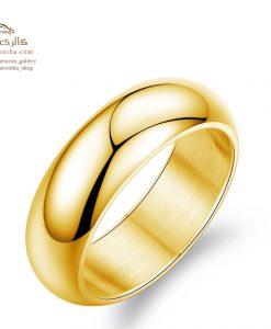 انگشتر حلقه مردانه گلد
