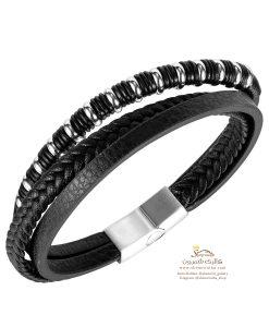 دستبند مردانه دو رشته