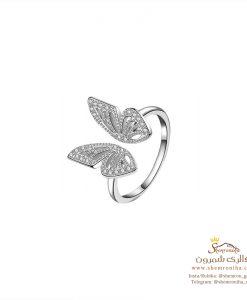 انگشتر نقره پروانه سیلور
