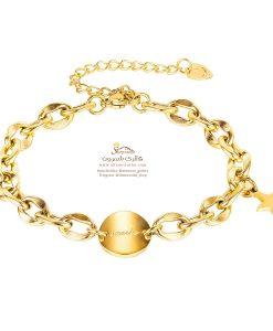 دستبند زنانه ستاره گلد