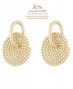 گوشواره زنانه EAR679G0 Golden Rope