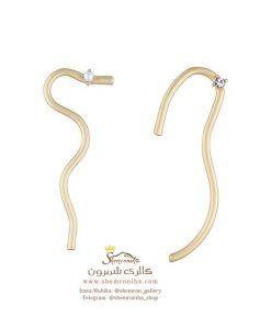 گوشواره زنانه مدرن EAR680G0